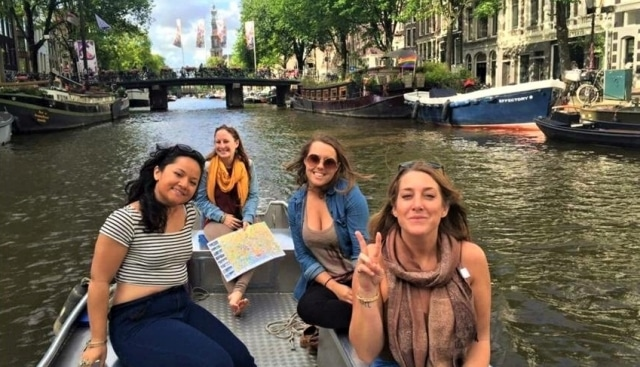 Boot mieten in Amsterdam bei Boats4rent Bootsverleih am Westerpark