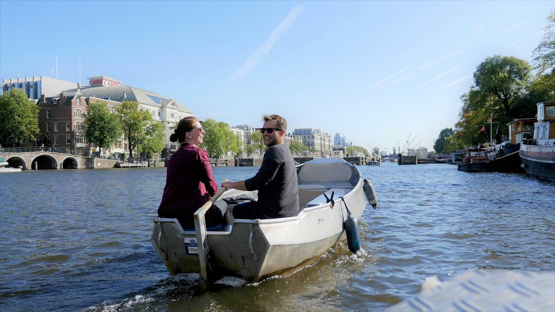 Boot mieten Amsterdam bei Boats4rent Bootsverleih