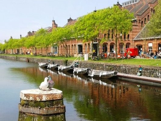 Bootsverleih Boats4rent Amsterdam Westerpark Westergasfabriek
