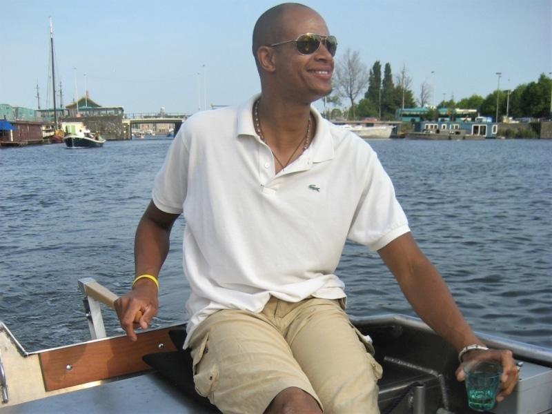 Grachtenfahrt Amsterdam kleines Boot Boats4rent