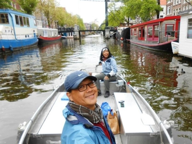Grachtenboot mieten Amsterdam Boats4rent