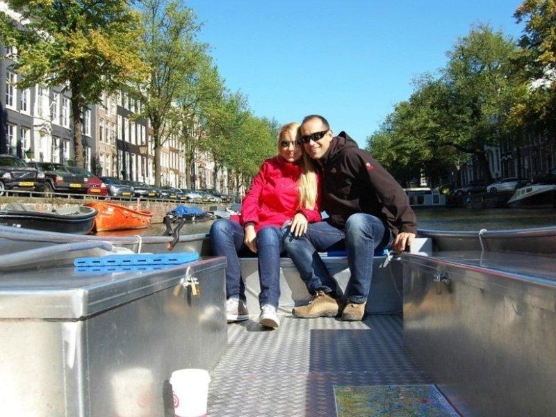 Amsterdam Elektroboot mieten Grachtenfahrt