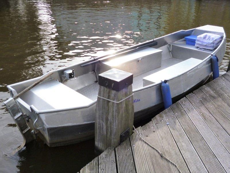 Amsterdam Boot Elektromotor